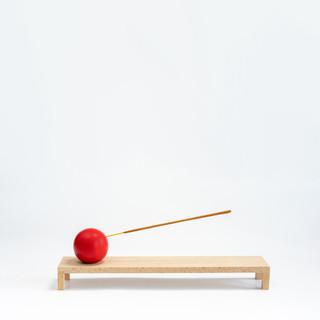 Incense Burner, Red