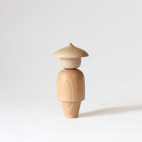 Message Doll, Solid Beech