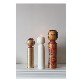 Kokeshi soy candle and friends