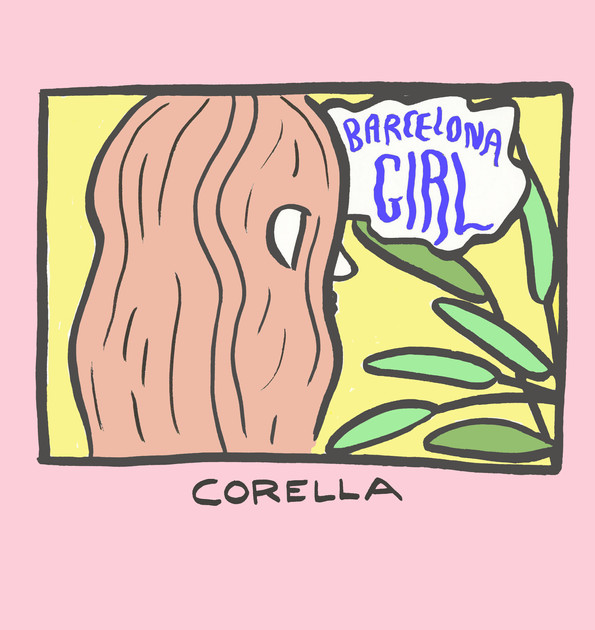 Corella Album cover; 1