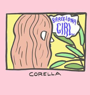 Corella Album cover; 1