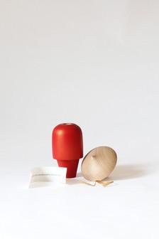 Beech, Toy Safe Paint, Paper Scroll