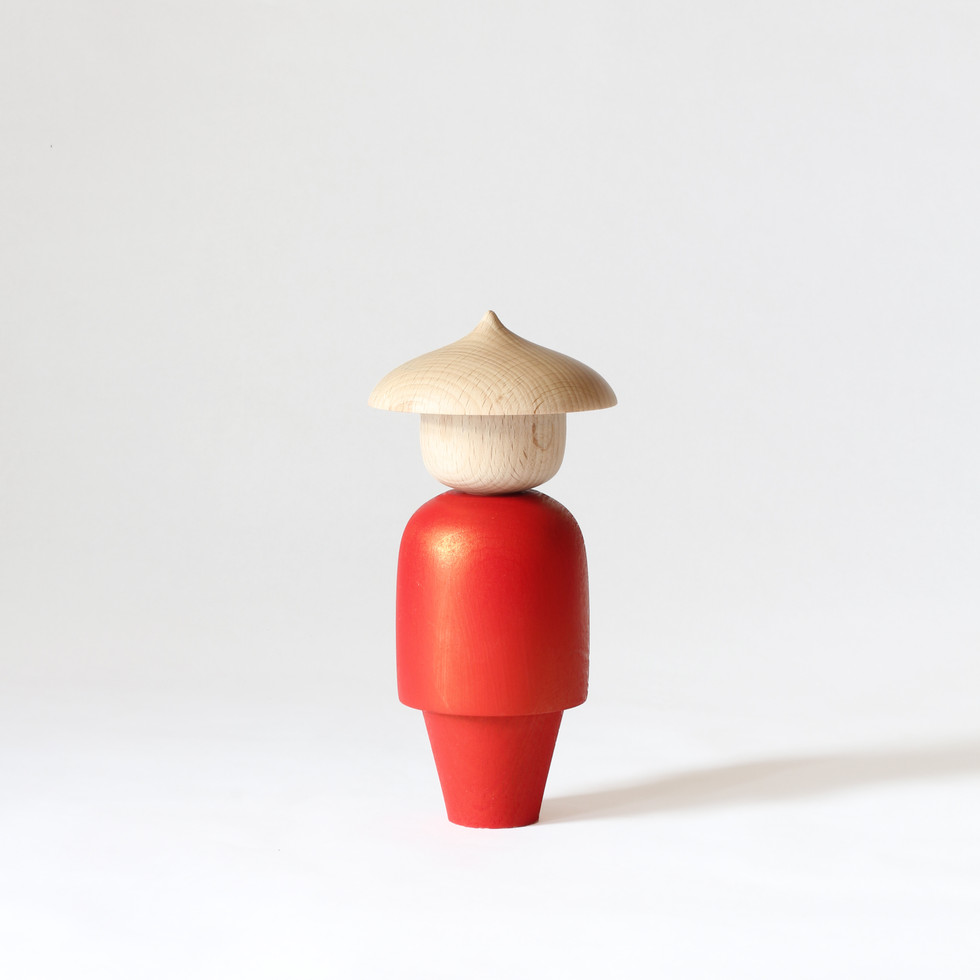 Message Doll, Red