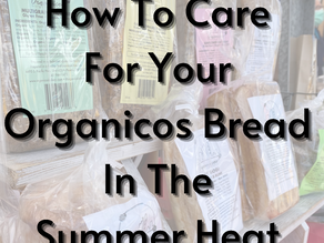 How To Care For Your Organicos Bread in the Summer Heat