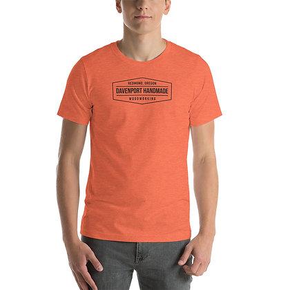 Davenport Handmade Short-Sleeve Unisex T-Shirt