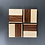 Thumbnail: Contrast Coaster Set with Maple, Walnut, and Paduk