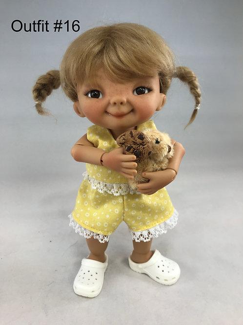 Punkin Cookie Artist Doll #16