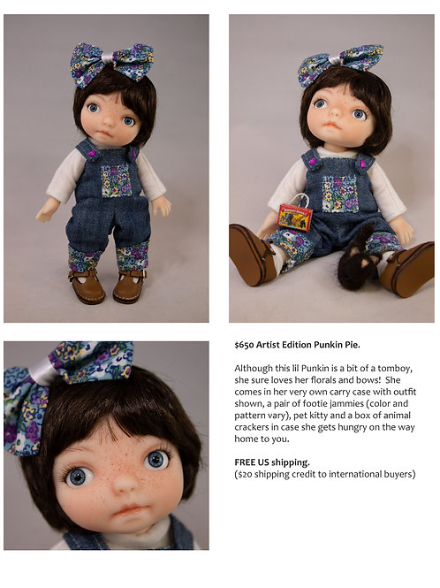 Punkin Pie Artist Doll 13