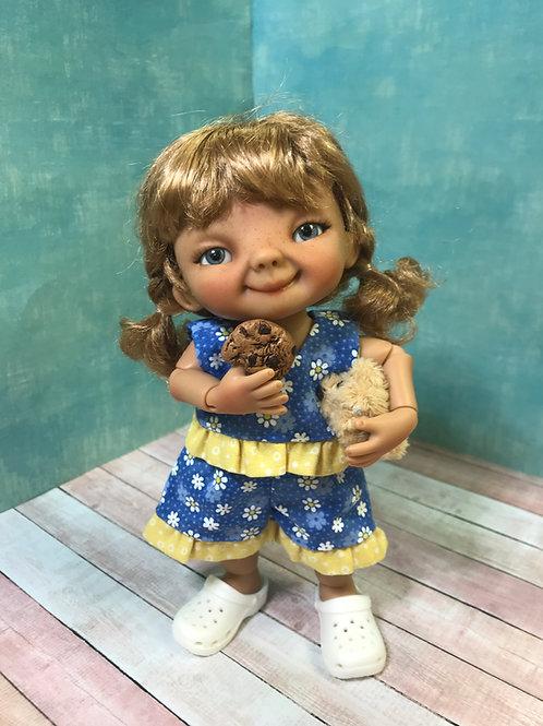Punkin Cookie Artist Doll #18