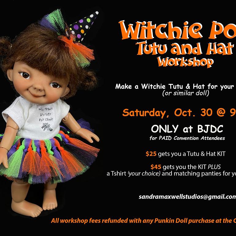 Witchie Poo Hat & Tutu Workshop