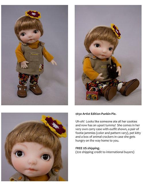 Punkin Pie Artist Doll 14