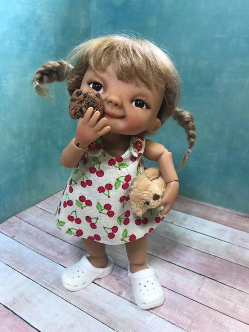 Punkin Cookie Artist Doll #10