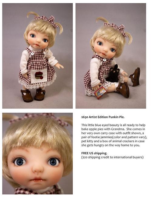 Punkin Pie Artist Doll 15