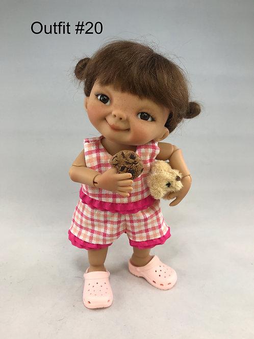 Punkin Cookie Artist Doll #20