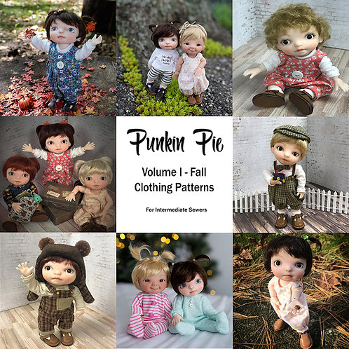 Punkin Clothing Patterns VOL I
