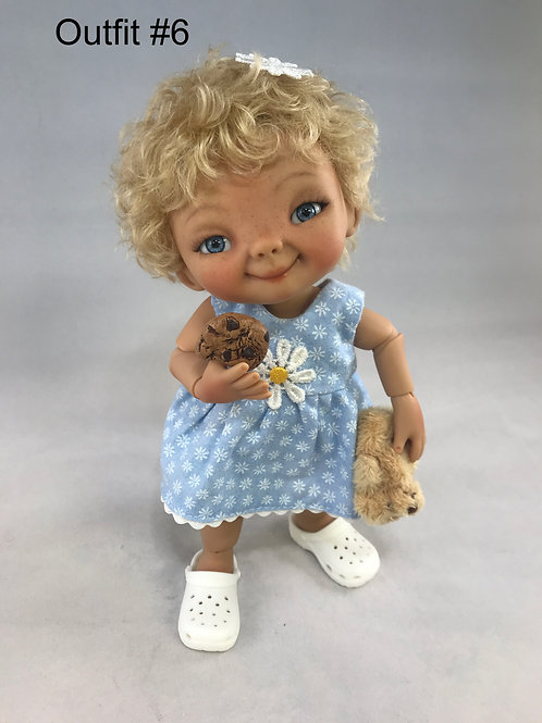 Punkin Cookie Artist Doll #6