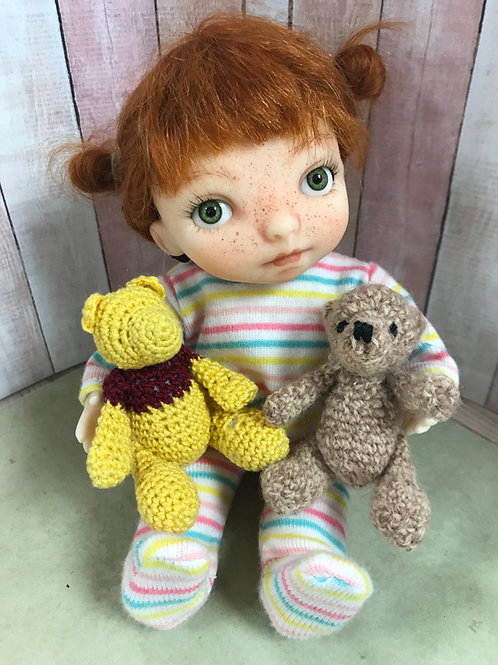Mini Teddy Bear Crochet Pattern