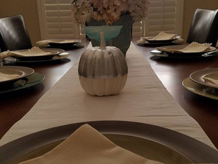 Neutral Fall in the dining room continued