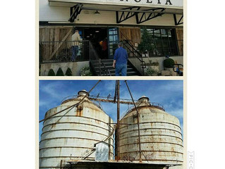 Magnolia and the Silos...Finally