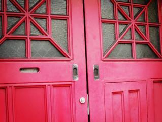 It's a door thing...