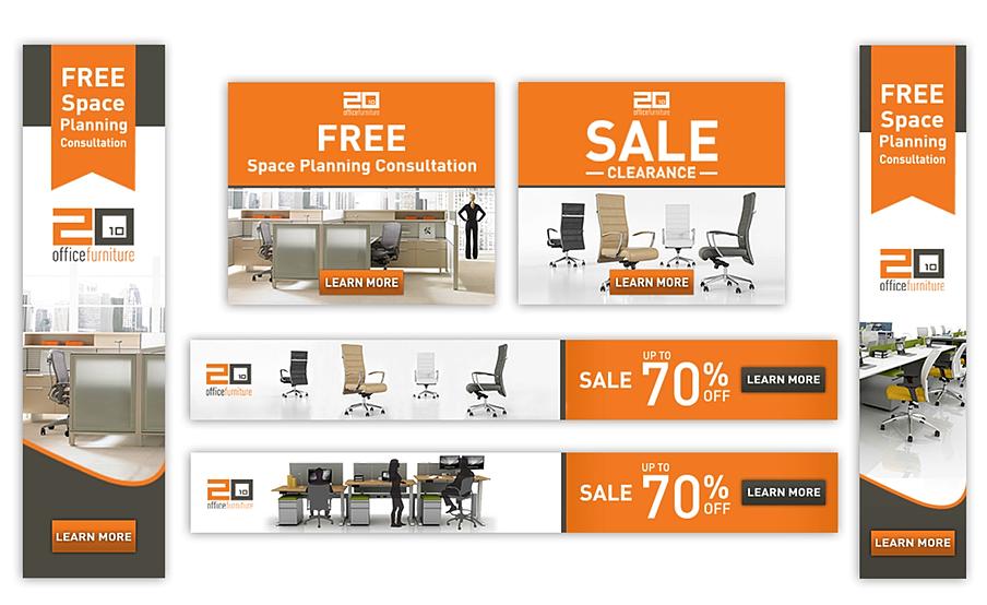 2010 Office Furniture. Web Design; Banner Ads ...