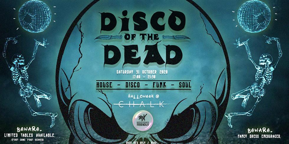 Brighton Rox & Snapback are proud to present… DISCO OF THE DEAD