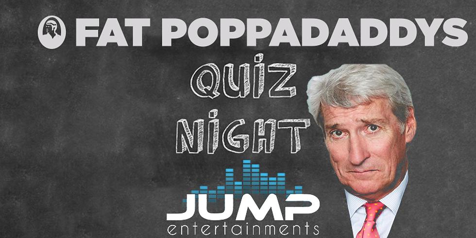 Fat Poppadaddys Quiz Night