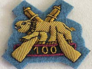 Badge - Army 100