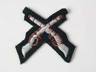 Crossed Rifles for Jumper