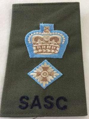 Rank Slide Lt Col