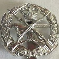 Capbadge White Metal
