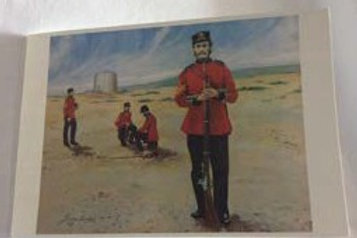 Man at Arms Card - Blank