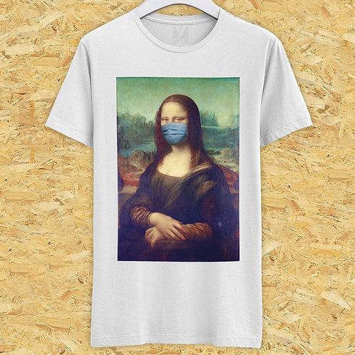 T-shirt Monalisa Mask