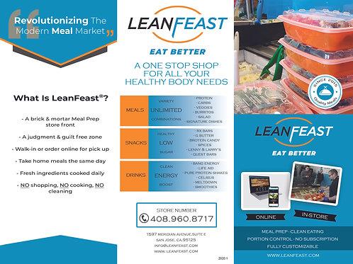 2020 Lean Feast - How it works Brochure