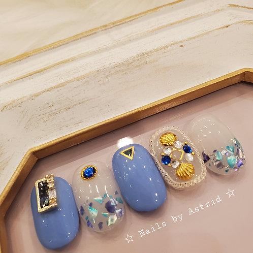 BLUE SAPPHIRE SHELL