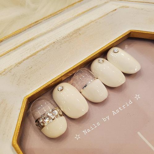 WHITE BRIDAL BLING II