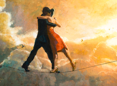 (June 2020) Dancing on the High-wire, Empathy, and Michelangelo