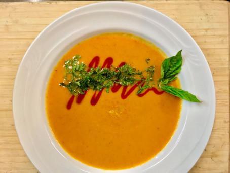 Thai Carrot Basil Soup