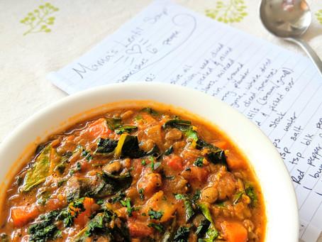 Mama's Lentil Soup