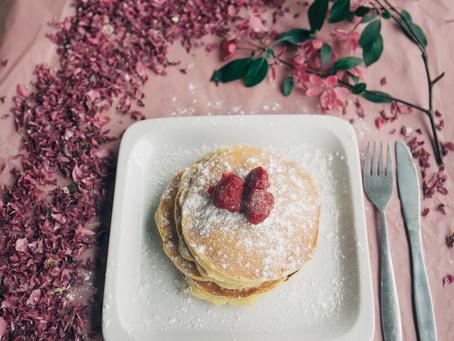 Cardamom Rose Pancakes