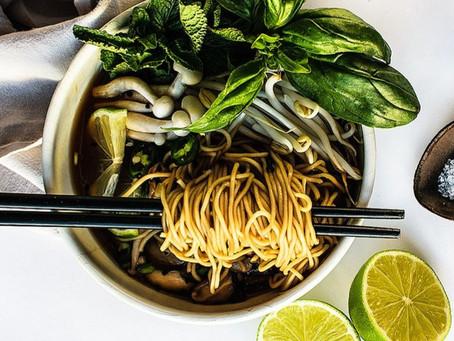 Vegan Phở (Noodle Soup!)