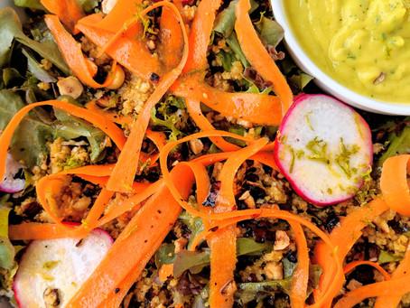 Herbed Avocado & Quinoa Salad
