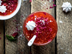 Peach Rose Compote_•_Summer afternoon, s