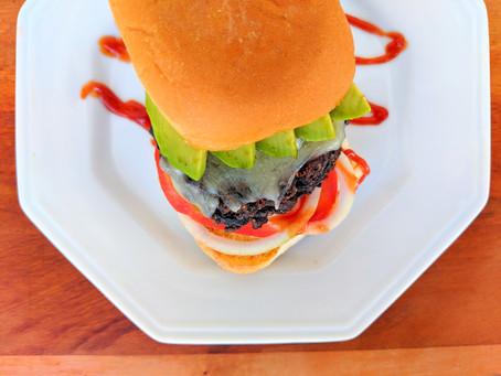THE BEST Black Bean Burger!