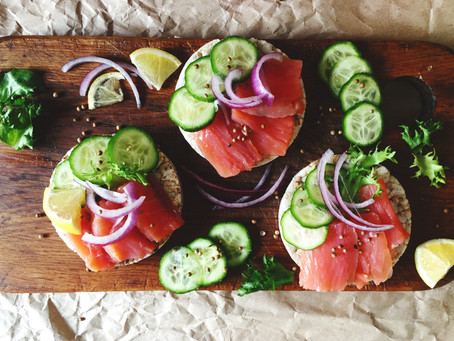 Smokey Cured Salmon