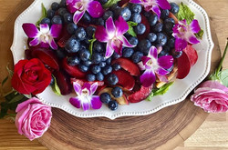 Floral Fruit Salad__In the spring, at th