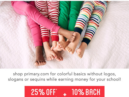 Primary Friends + Family Sale