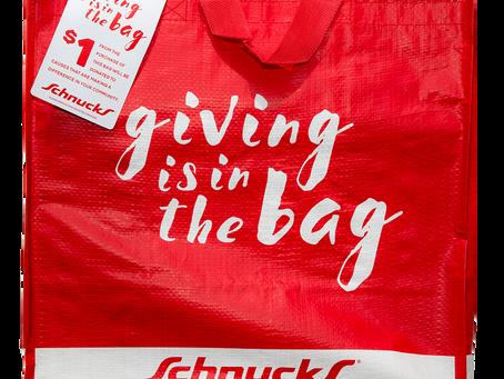 Schnucks Bags Support GT in October