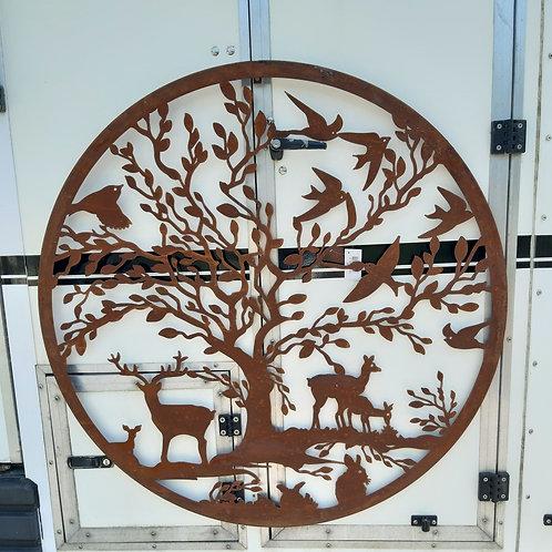Woodland Scene Wall Art