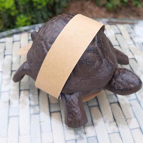 Tortoise Cast Iron Key Keeper. Approx 10cm x 8cm